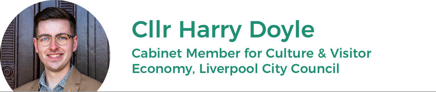 Cllr Harry Doyle: Cabinet Member for Culture and Visitor Economy LCC